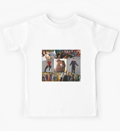 Castle Collage Kids Tee