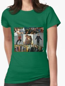 Castle Collage Womens Fitted T-Shirt