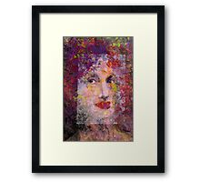 When Mother Nature Gets Bored Framed Print