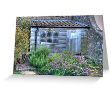 Gertrude Jekyll's Potting Shed Greeting Card
