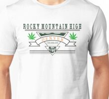 Marijuana Denver Colorado Unisex T-Shirt
