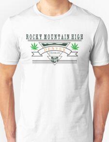 Marijuana Denver Colorado T-Shirt