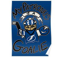 My Patronus is a Goalie (TBL Edition) Poster