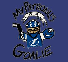 My Patronus is a Goalie (TBL Edition) Womens Fitted T-Shirt