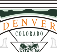 "Marijuana Denver ""Mile High Club"" Sticker"