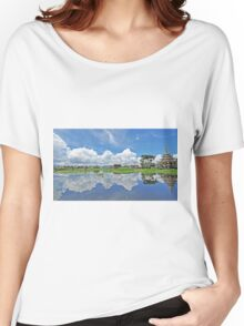 Myanmar, Shan state, Inle lake Women's Relaxed Fit T-Shirt