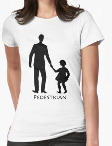 Pedestrians Womens Fitted T-Shirt