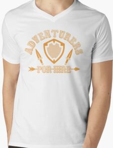 Adventurers For Hire Mens V-Neck T-Shirt