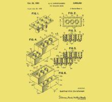 Toy Building Brick Patent  Kids Clothes