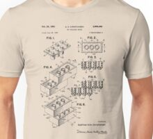 Toy Building Brick Patent  Unisex T-Shirt