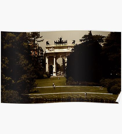 The Arch of Peace Poster