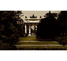 The Arch of Peace Photographic Print