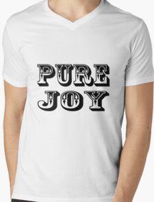 Pure Joy Mens V-Neck T-Shirt