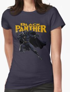 Black Panther Womens Fitted T-Shirt