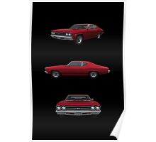 Candy Apple 1969 Chevelle SS Poster