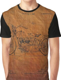 Motorcycle Patent 1925 Graphic T-Shirt