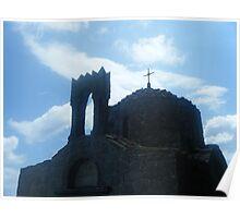 Patmos Island St John Monastery 4 Poster