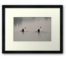Toddy pond Framed Print
