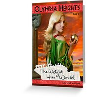 Olympia Heights: The Weight of the World Greeting Card