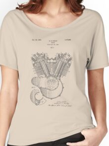 Engine patent from 1919 Women's Relaxed Fit T-Shirt