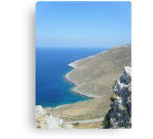 Patmos Greek Island #photography Canvas Print