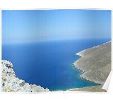 Patmos Greek Island View #photography Poster