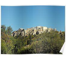 Patmos Greek Island Monastery  #photography Poster