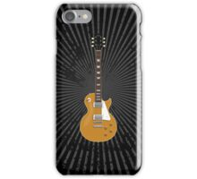 Gold Top Electric Guitar iPhone Case/Skin