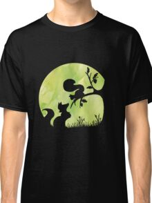 Woodland Shadows - Fox and Squirrel:Spring Classic T-Shirt