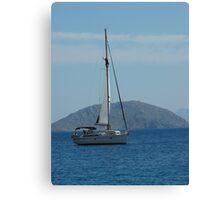 Sailing the Greek Islands Canvas Print