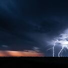 Storm out West - Great Victoria Desert, WA by Liam Byrne
