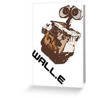 Wall.E T-Shirt Greeting Card