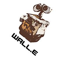 Wall.E T-Shirt Photographic Print