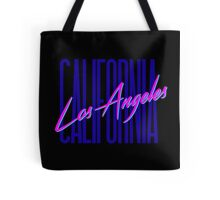 Retro 80s Los Angeles, California Tote Bag