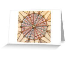 Inside York Minster Greeting Card