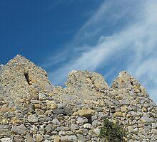 Patmos Greek Island church walls #photography by SlavicaB