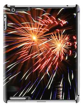 Fireworks I Pad Case by JoeDavisPhoto