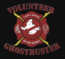 Volunteer Ghostbuster (Clean) Baby Tee