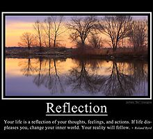 Reflection by wisdomwords