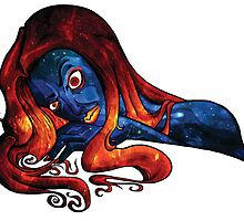 Galaxy Girl by Deacon L. Bishop   dlb