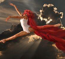 Dancer in the Sky Calendar Cover by Carnisch