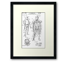 Toy Doll Patent 1964  Framed Print