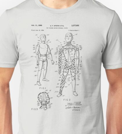 Toy Doll Patent 1964  Unisex T-Shirt