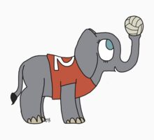 Volleyball Elephant Kids Clothes