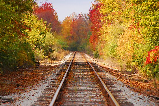 Fading Tracks by mcstory