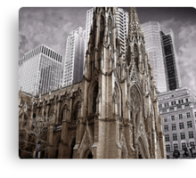 St Patrick's Cathedral of New York Canvas Print