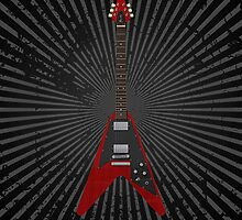 Flying V Guitar by bradyarnold
