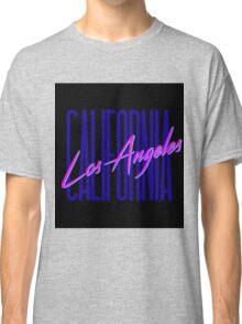 Retro 80s Los Angeles, California Classic T-Shirt