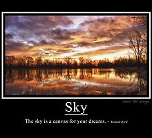 Sky by wisdomwords