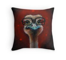 Ostracised Optometrist Throw Pillow